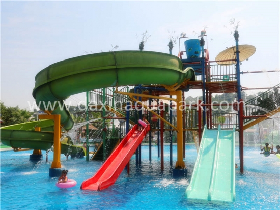 Medium Size Water Playground