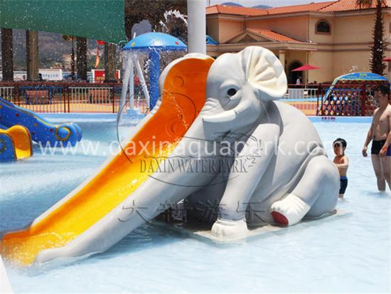 Outdoor Elephant Slide